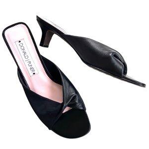 Like new Donald J. Pliner leather sandals